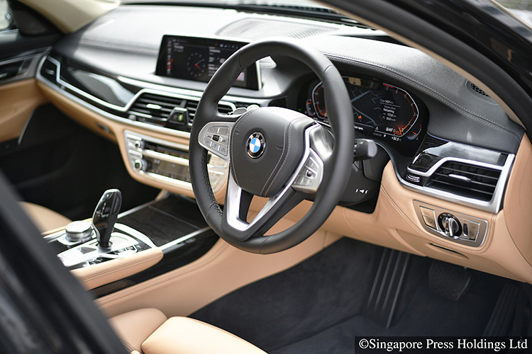 bmw 7 series 740li cockpit