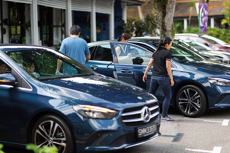 breakfast with torque and mercedes-benz test-drives