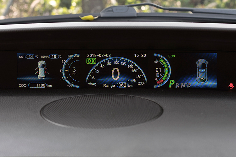 byd e6 instrument panel