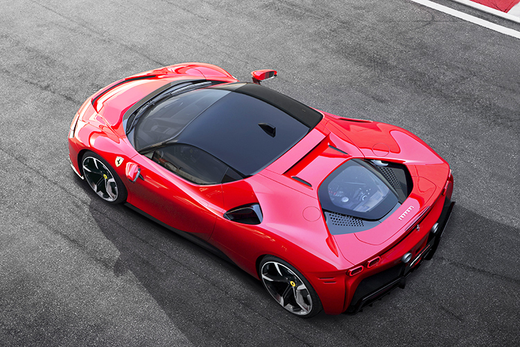 ferrari sf90 stradale top