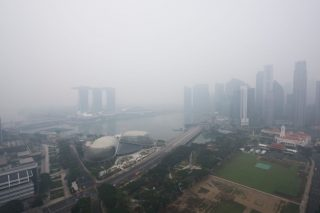 protect car against haze air pollution