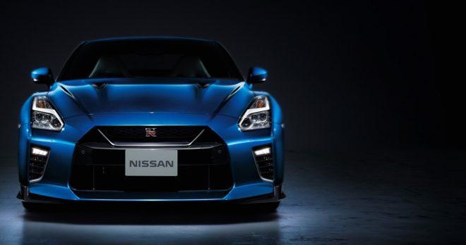 Bayside Blue Nissan GT-R