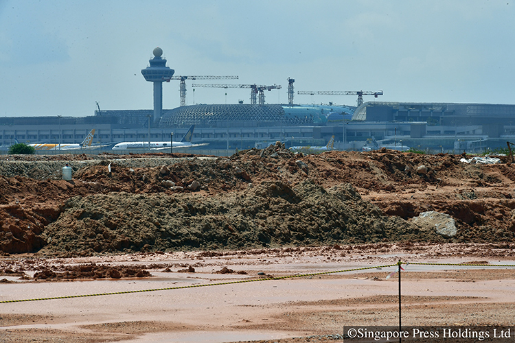 new roads and viaduct for changi region