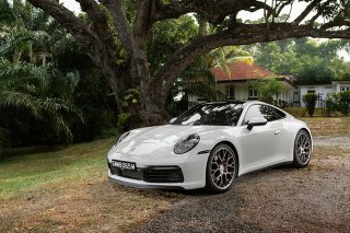 992 Porsche 911 Carrera 4S review
