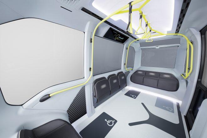 e-Palette interior space autonomous