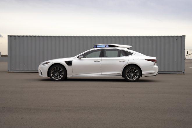 autonomous driving Toyota P4