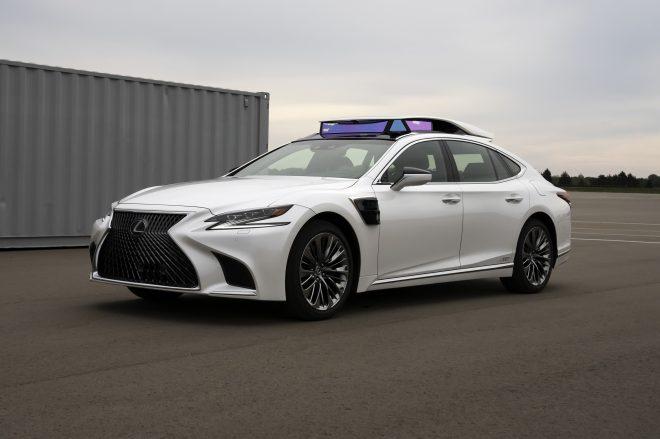Lexus LS P4 autonomous driving