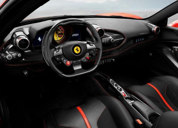 F8 Tributo interior
