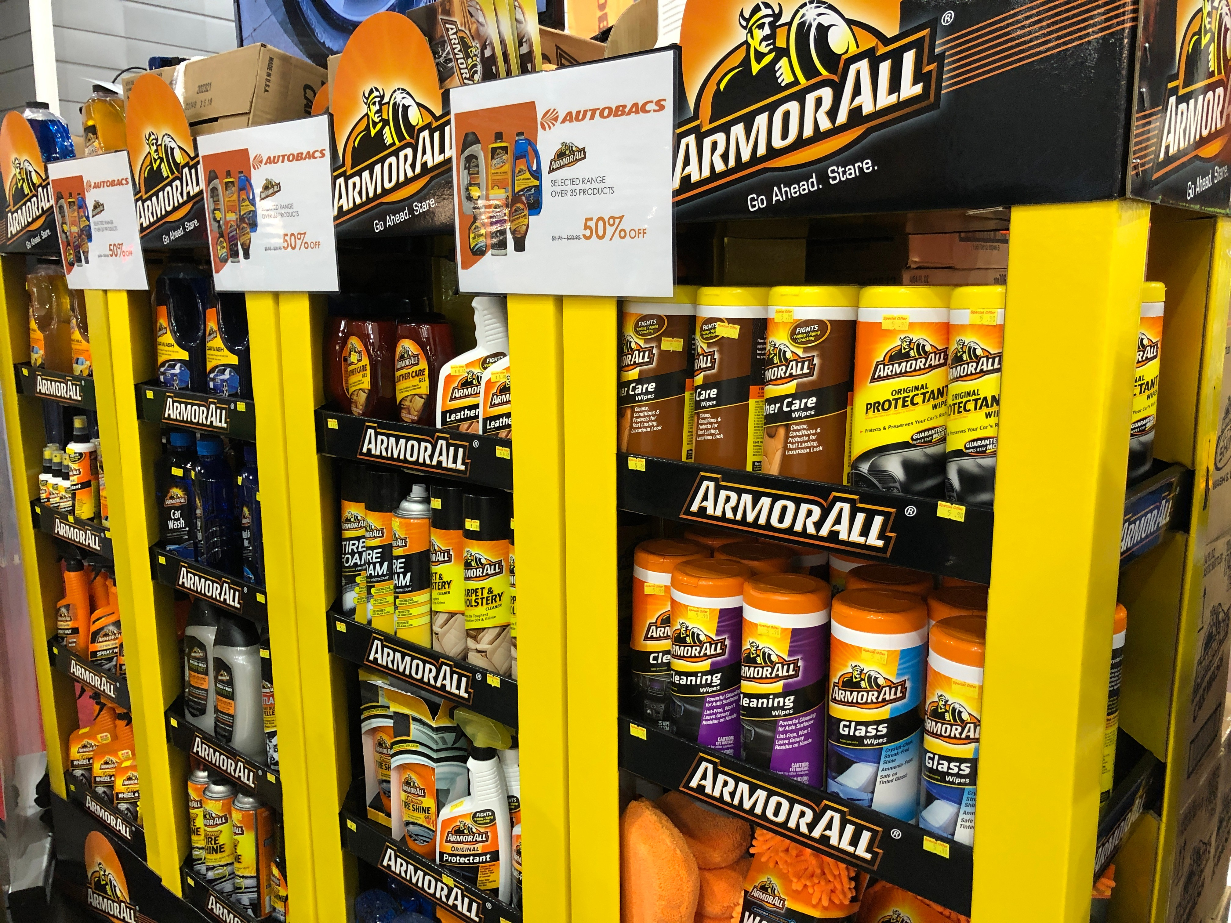 cars@expo car grooming products armor all