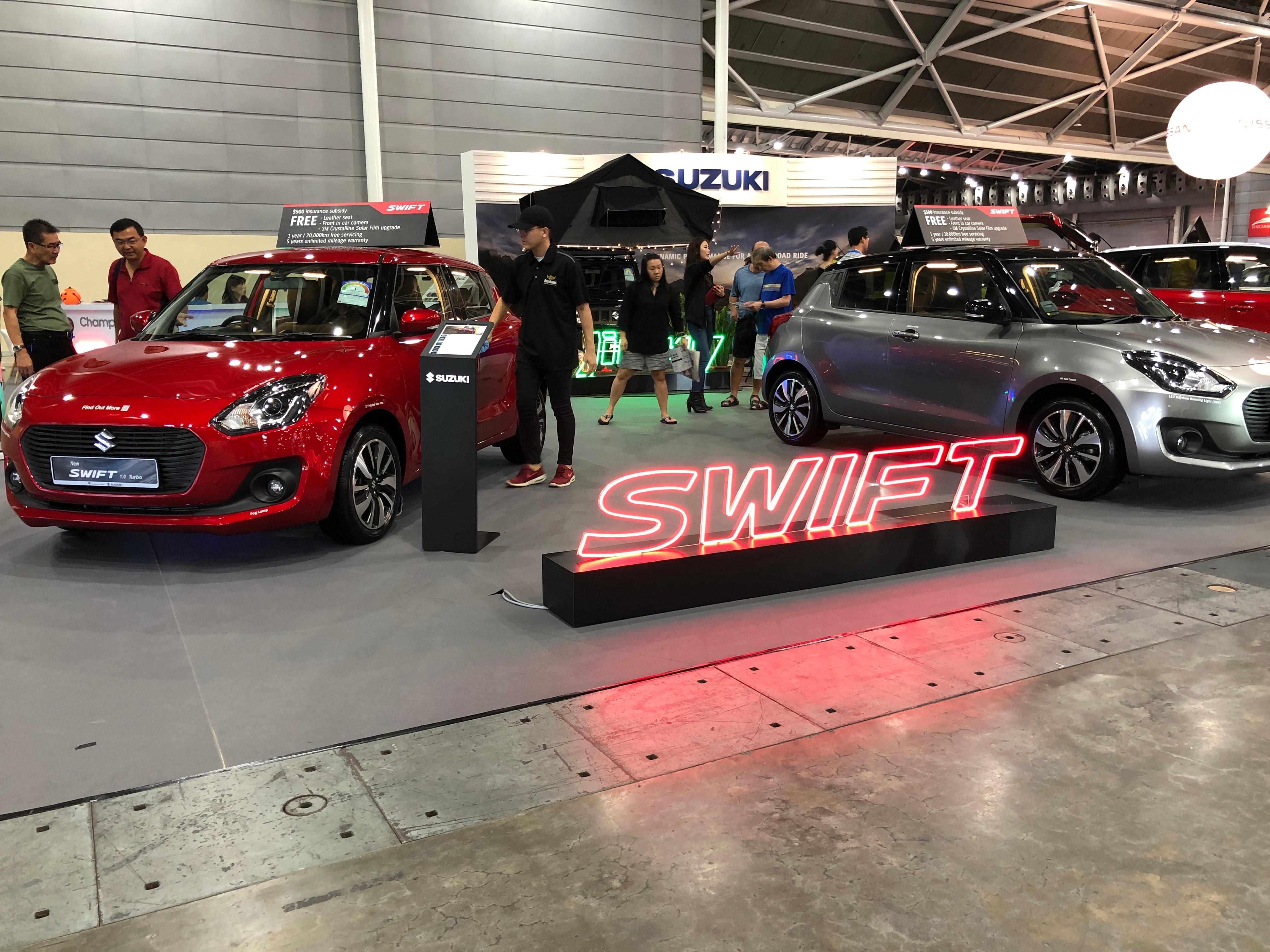 cars@expo suzuki swift