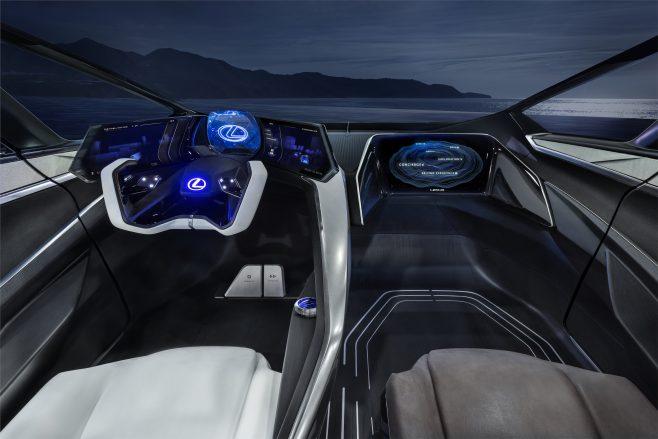 LF-30 steering wheel