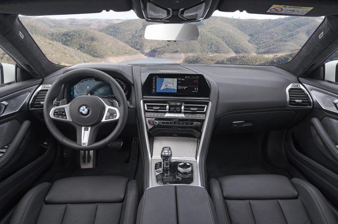 840i Gran Coupe interior