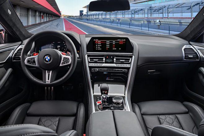 M8 Competition interior