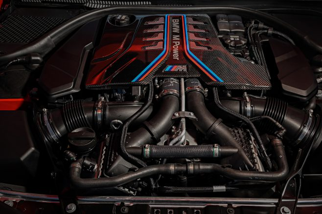 M8 Competition engine
