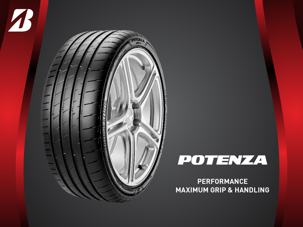 Bridgestone POTENZA™ - Performance Maximum Grip & Handling