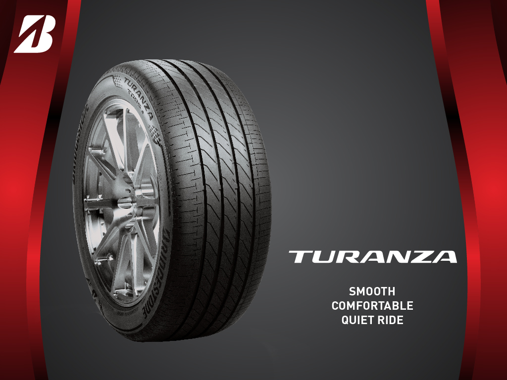 Bridgestone TURANZA™ - Smooth Comfortable Quiet Ride