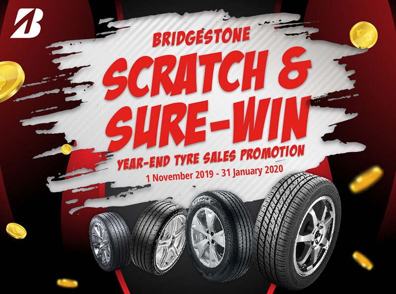 Bridgestone Scratch & Sure-Win