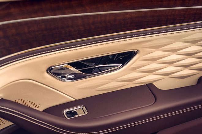 bentley flying spur door details