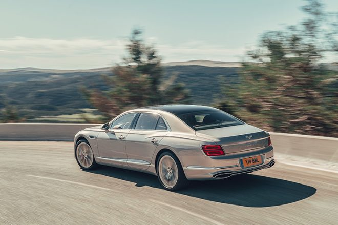 Flying Spur rear