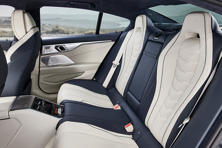 8 series gran coupe backseat