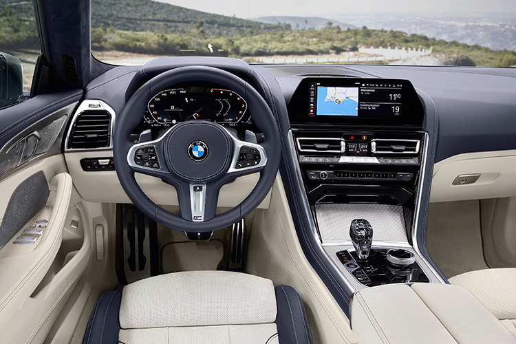 8 series gran coupe interior