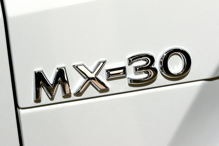 mazda mx-30 badge