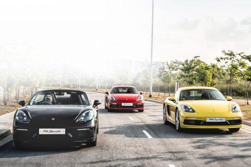 Porsche 718 Cayman and 718 Boxster