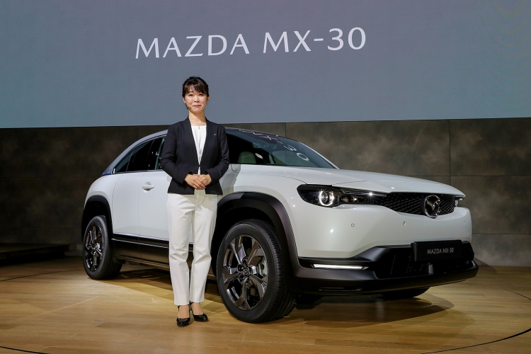 tomiko takeuchi, chief programme manager, mazda mx-30