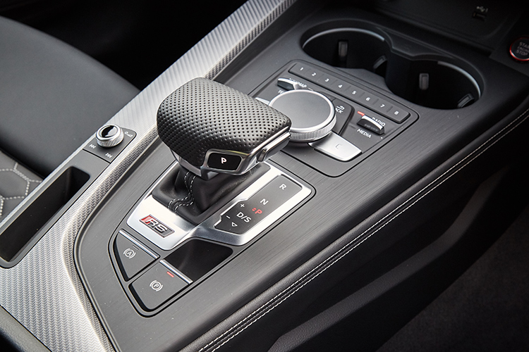 audi rs5 sportback gearbox