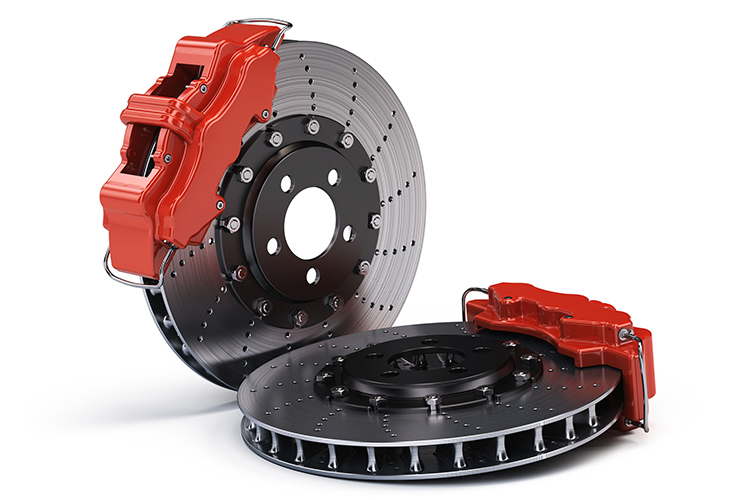 cross-drilled brakes