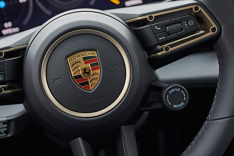 porsche taycan turbo s drive mode