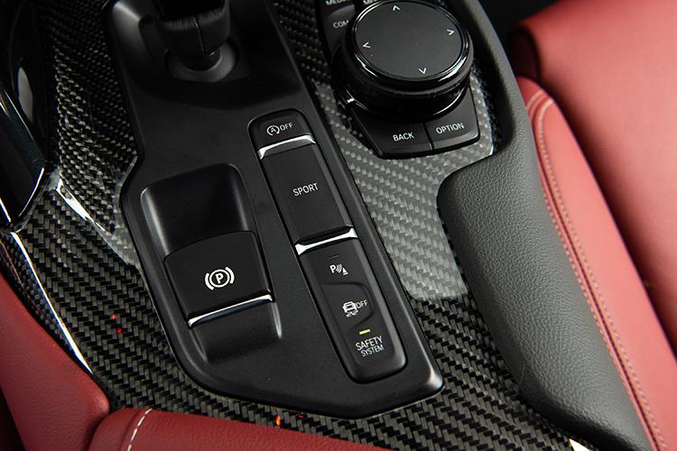 toyota supra drive modes