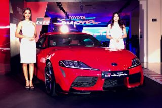 toyota supra launch main