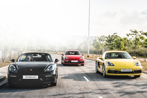 Porsche's 718 Cayman and 718 Boxster are mid-engine magic