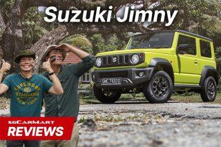 suzuki jimny review SGCM
