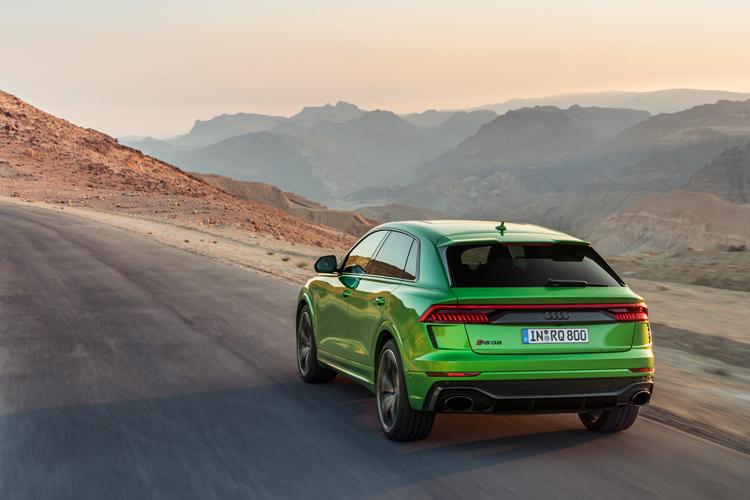 Audi RS Q8 rear driving