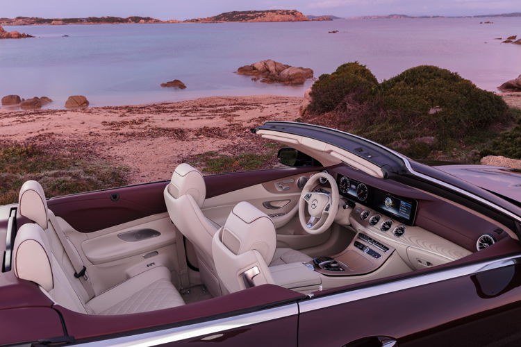 convertible mercedes-benz e-class cabriolet