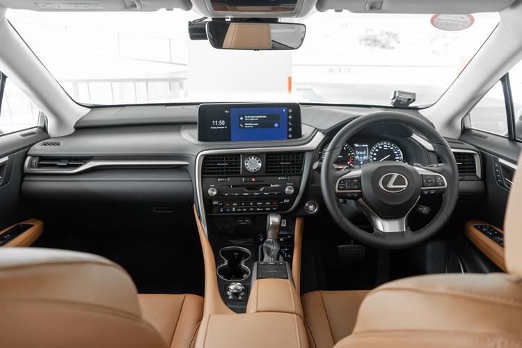 lexus rx350l cockpit