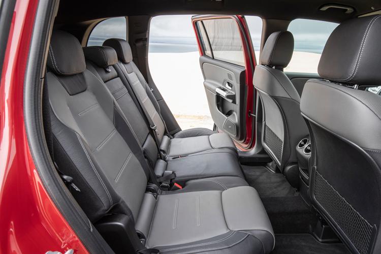 mercedes-benz glb backseat