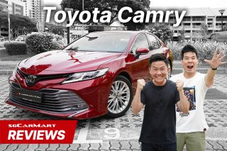toyota camry 2.5 review