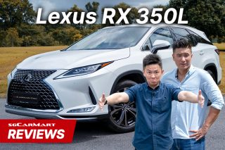 Lexus RX350L review thumbnail