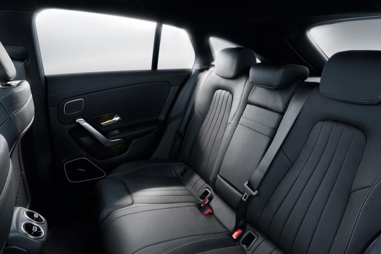 mercedes-benz cla shooting brake backseat