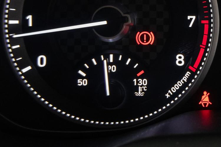 temperature gauge fluctuation