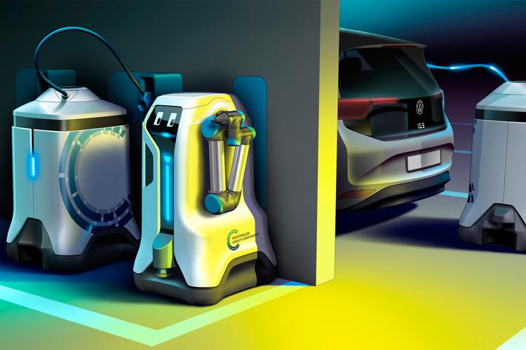 volkswagen charging robot 1