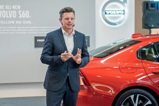 jonathan disley volvo cars vp of design