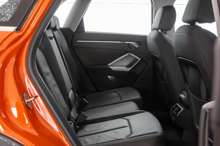 audi q3 backseat