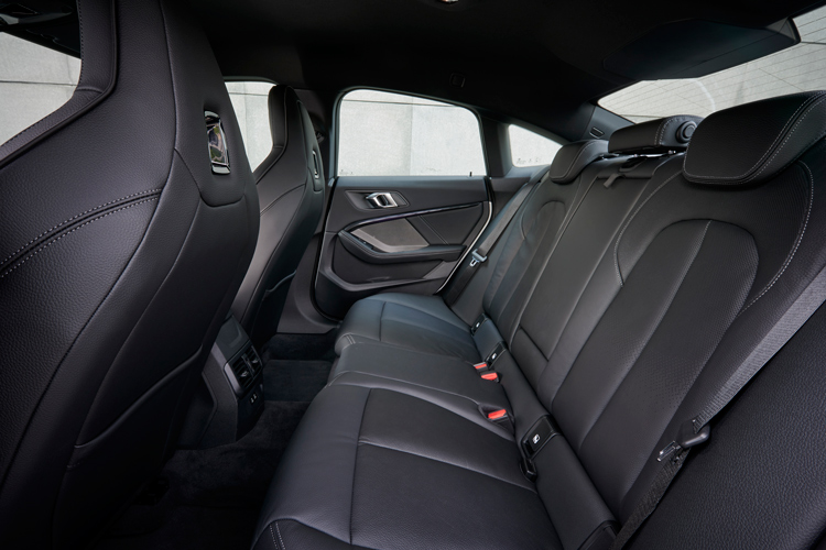 bmw 2 series gran coupe backseat