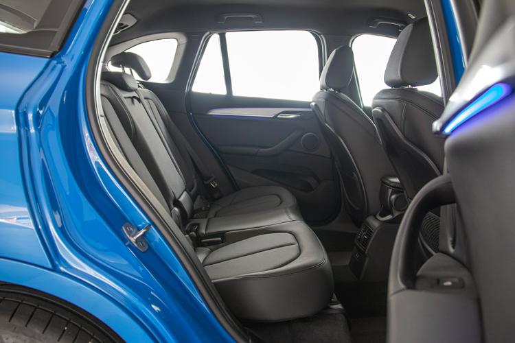 bmw x1 backseat
