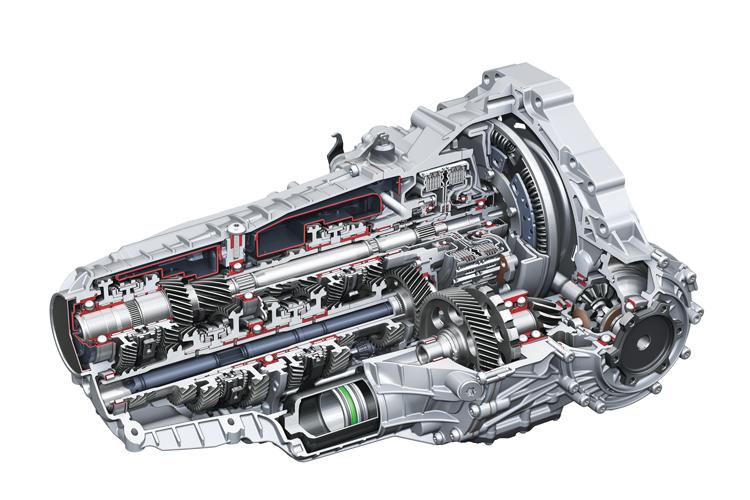 dual clutch gearbox audi s tronic