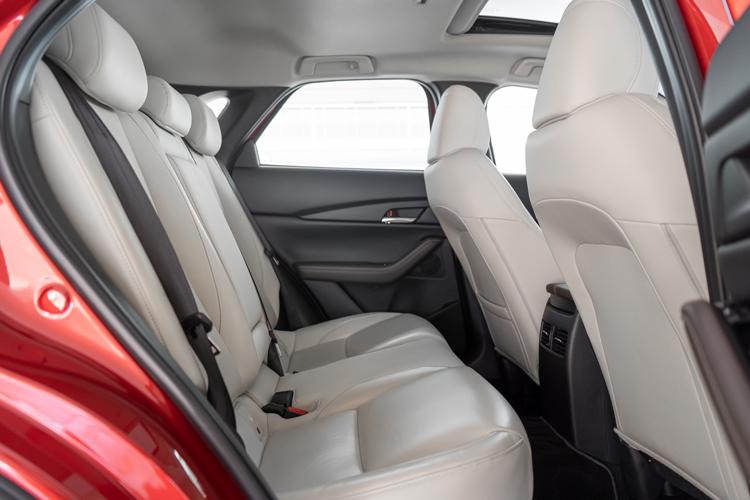 mazda cx-30 backseat